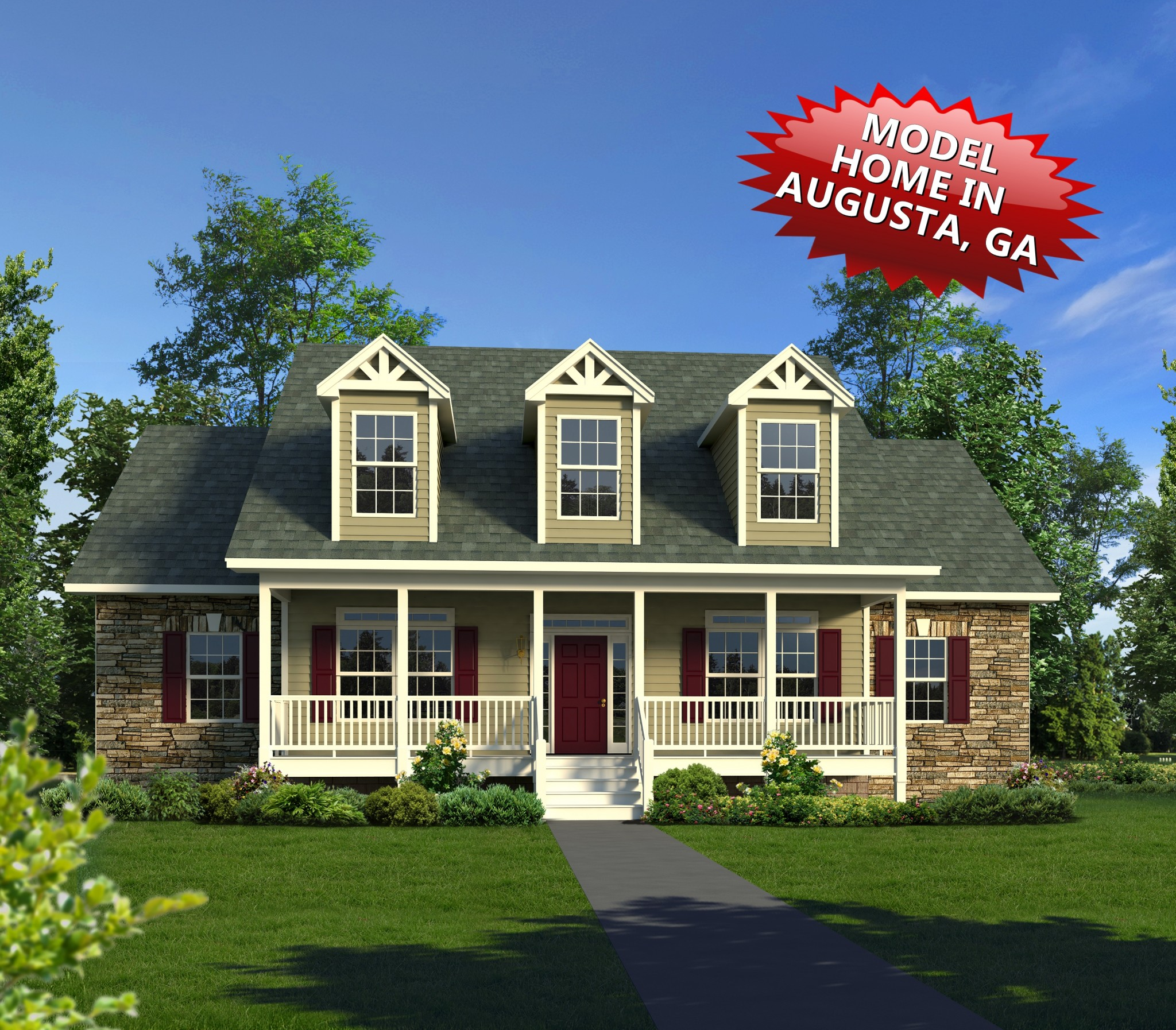 Browse home plans trinity custom homes for Custom house plans with photos