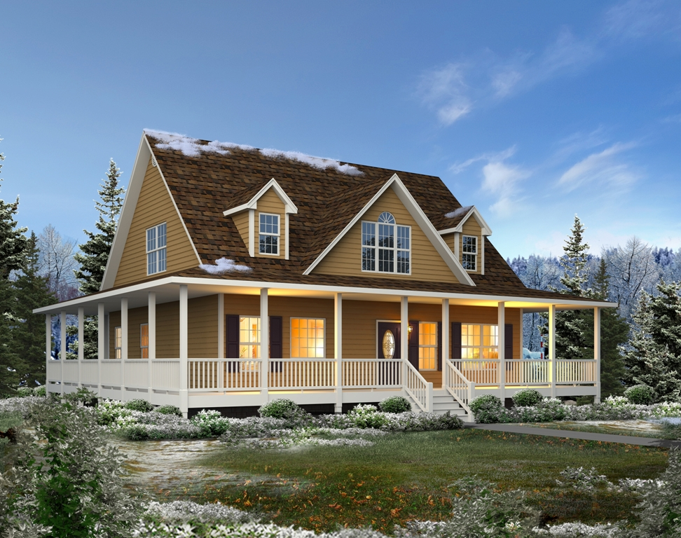 Browse home plans trinity custom homes for Custom farmhouse plans