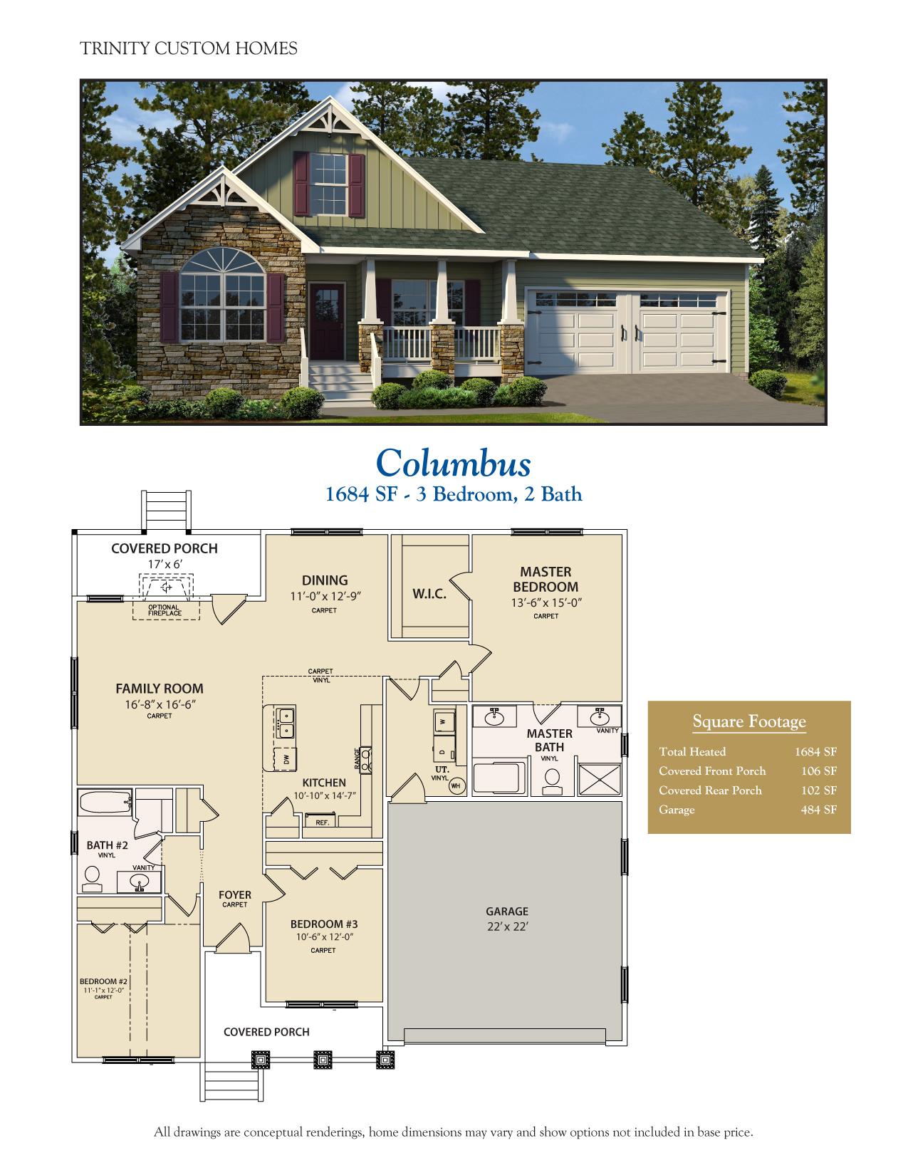 28 Savannah Floor Plan Custom Home Simi Valley