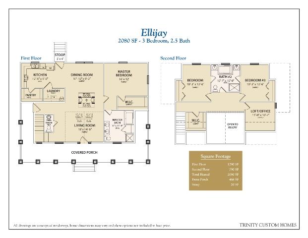 Floor Plans | Trinity Custom Homes Georgia