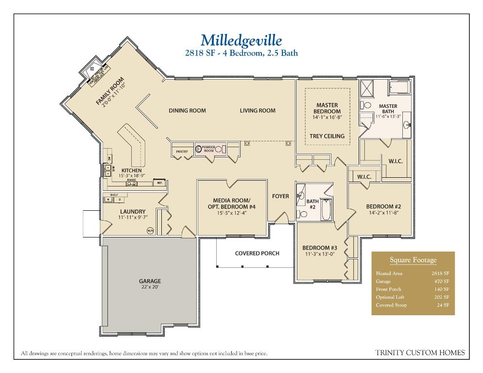 28 trinity homes floor plans floor plans trinity for Custom home building plans