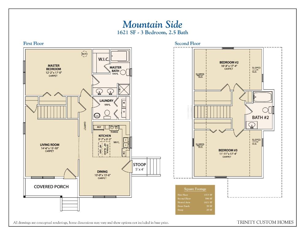 Single Floor House Plans Georgia 4 Bedroom Ranch House