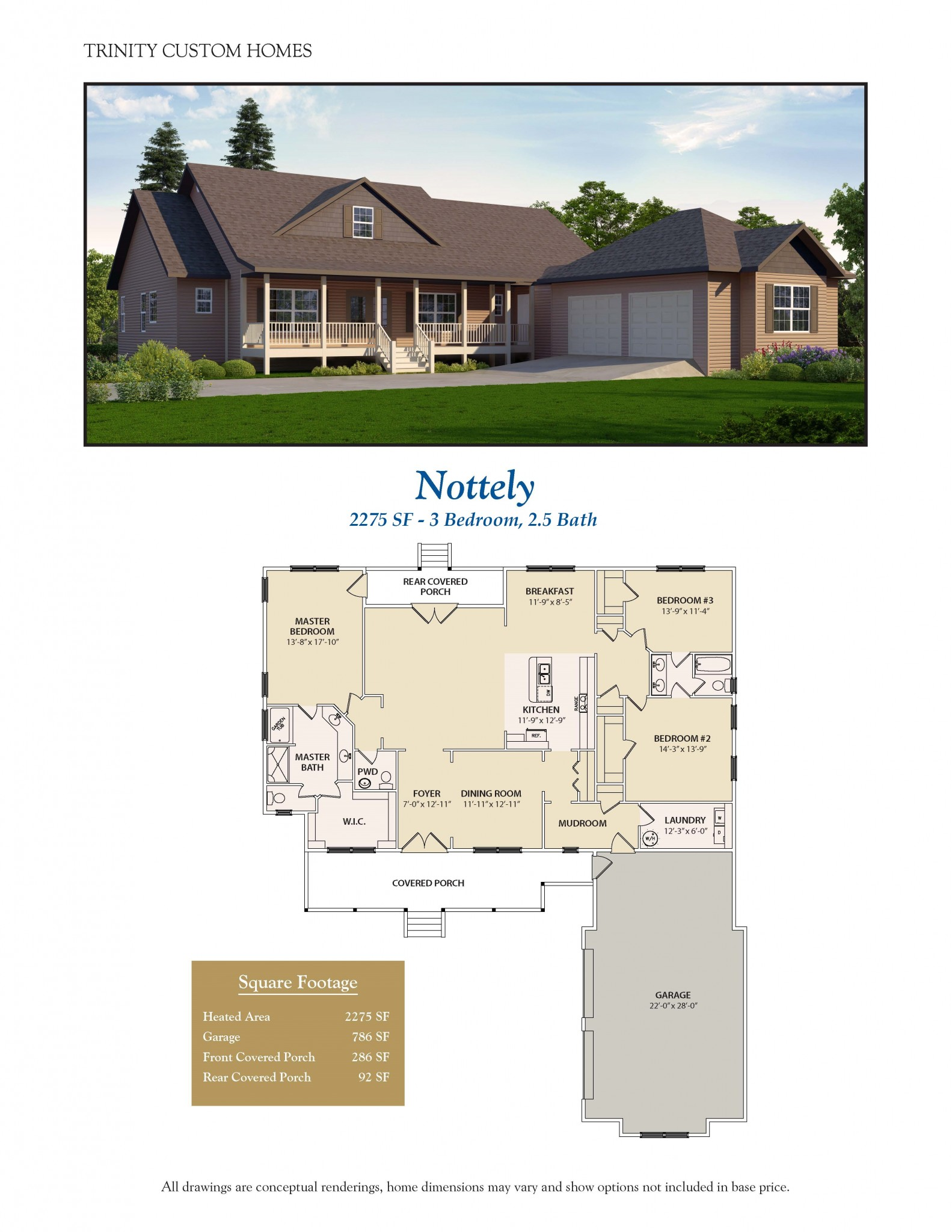 Nottely welcome to trinity custom homes for Trinity house plans