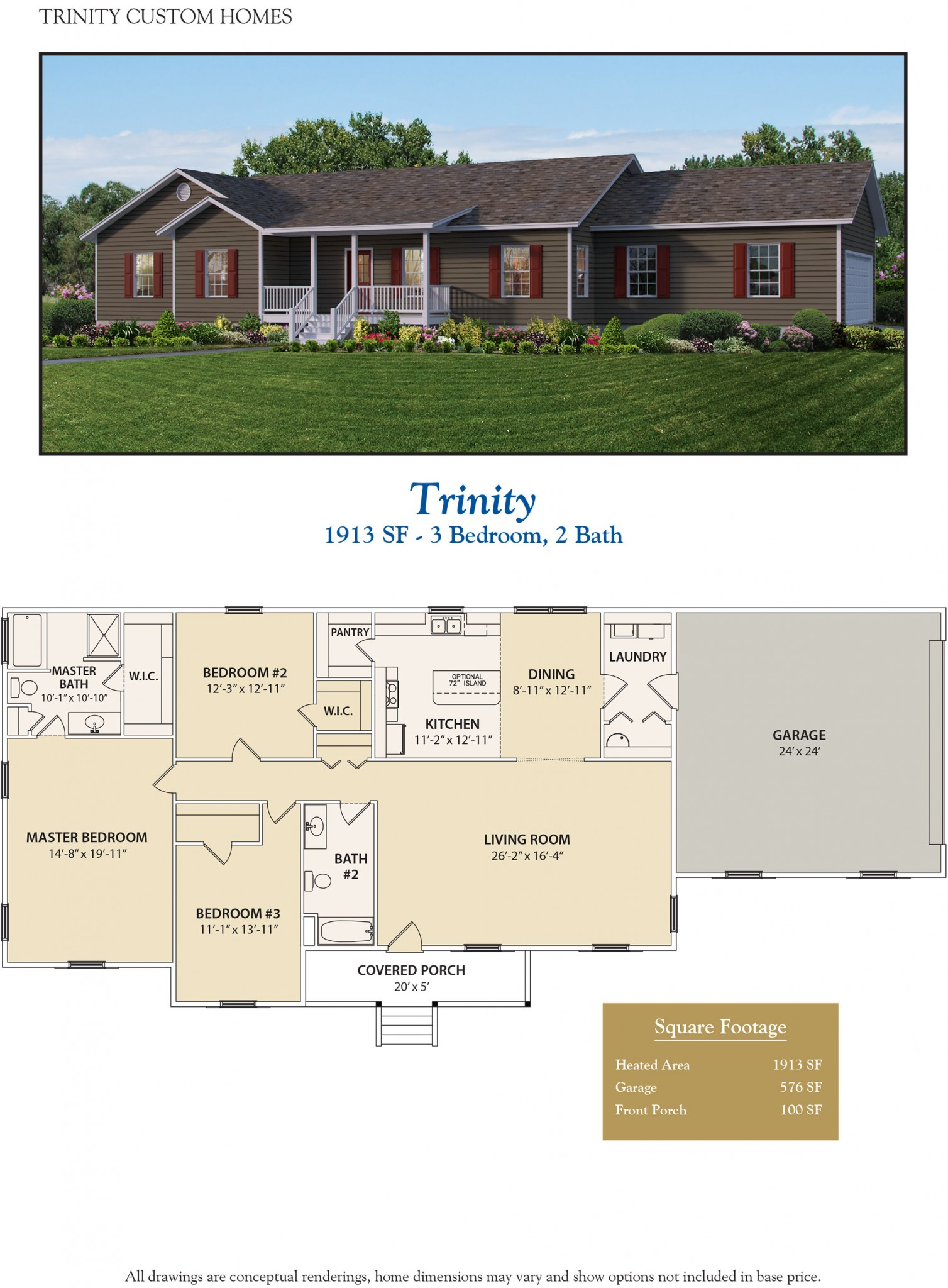 Trinity welcome to trinity custom homes for Trinity house plans