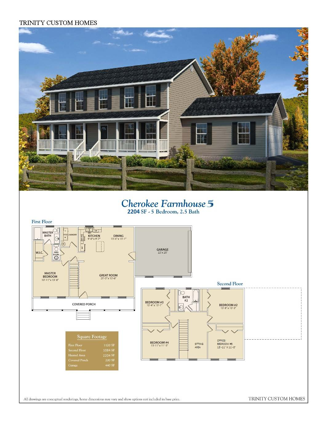 Custom Farmhouse Plans