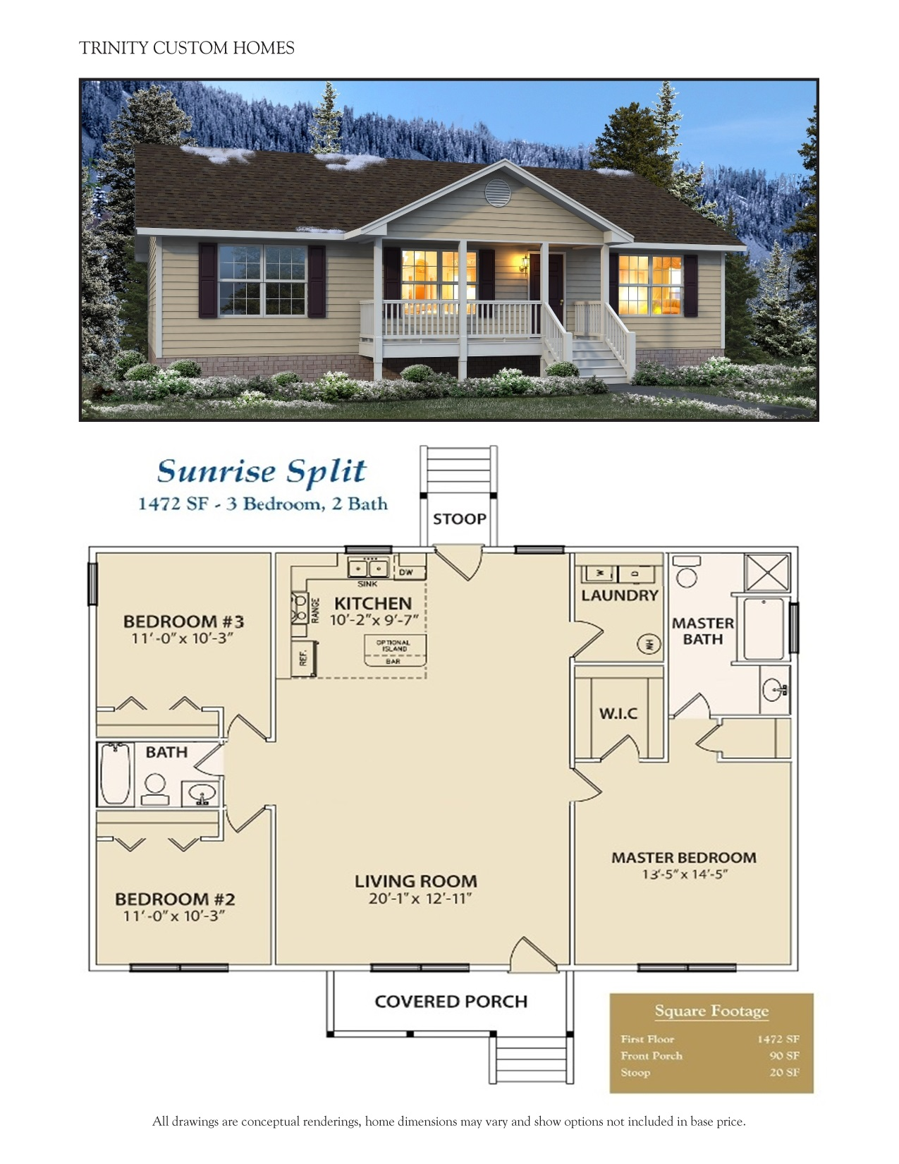 House Plan Small Home Design: Trinity Custom Homes Georgia